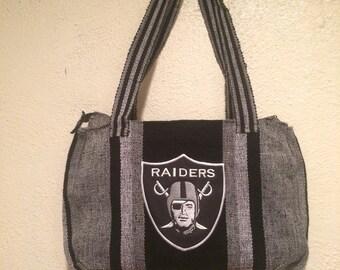 Raiders Handmade bag importadfrom the Americas ....