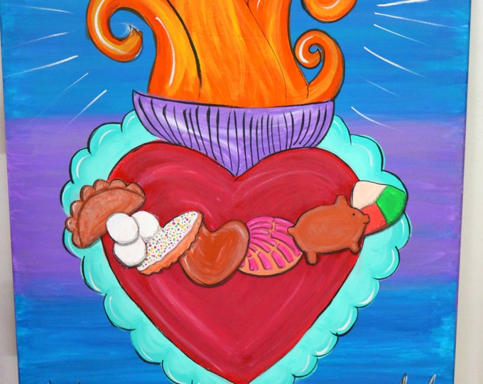 PAINTING: Our Love is Sweeter Than Pan Dulce