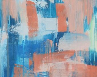 Ocean Shimmer 1 // Artist Charlie Albright // Blog Moments by Charlie | Modern Abstract Art Print, Wall Art1