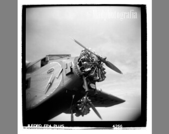 Aviation Decor, Film, Vintage Photo, Vintage Print, Aircraft Propeller, Airplane Art, Propeller Print, Aviation Art, Ribba, Vintage Camera