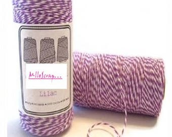 5 m baker's twine dark purple embellishment scrapbooking cardmaking