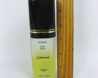 Vintage GRES CABOCHARD Eau De Toilette Spray Perfume 3.38 OZ. 50% Full?
