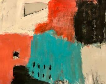 Original Abstract Art, modern home decor, painting