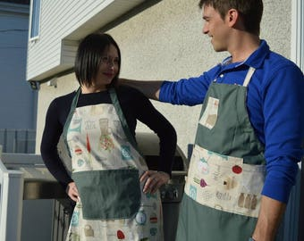 Apron duo for adult