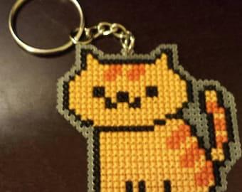 Neko Atsume Cross Stitch Keychains [38 Basic Cats]