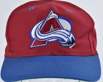 1990's Colorado Avalanche Cap by Logo 7, Snapback Baseball Cap