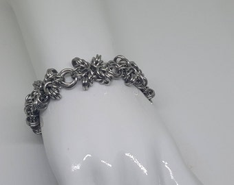 Handcrafted Chainmaille Bracelet.