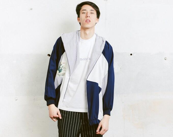 Men Sailor Hoodie . Men Sailor Top Hooded Sweatshirt Activewear Men 90s Clothes Streetwear Naval Print Hoodie Sailor Sweater . size XXL