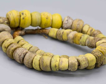 "Antique Hebron ""KANO"" African Trade Beads 54 Beads"