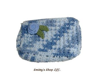 Cosmetic bag/ Clutch handmade