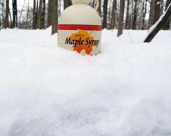 Pure Maple Syrup | Michigan | Grade A Dark, Robust Flavor | 1 Quart