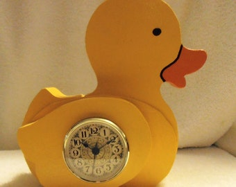 Duckie Clock and Bank