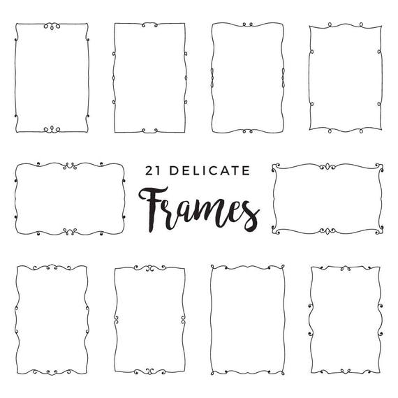 21 Delicate Frames Labels Labels Frames Tags Wedding Invitation