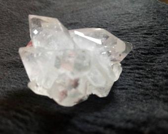 Sparkly Apophyllite Crystal Stone Cluster Geode 28 Gram