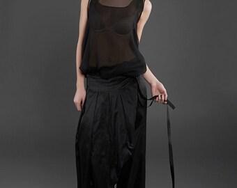 "silky panties ""dragonfly"" purple, silk, black, evening dress"