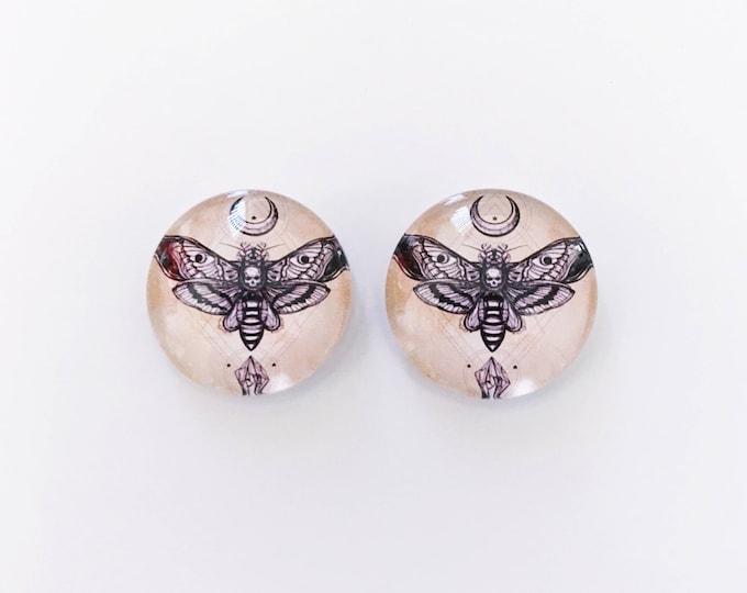 The 'Samara' Glass Earring Studs