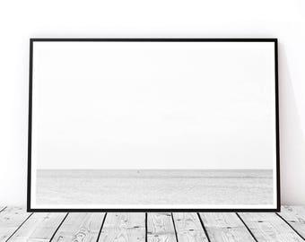 Minimal Seaside Photography Print