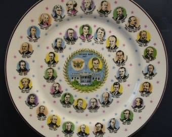 George HW Bush Presidential Collector Plate