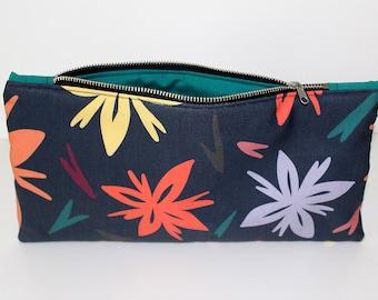 Night Blooms Zipper Bag