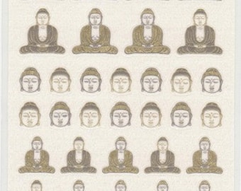 Buddha Stickers - Paper Stickers - Reference H6032