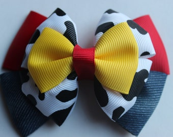 Cowgirl Jessie Toy Story Inspired Boutique Bow