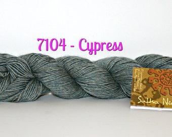 Sulka Nina Yarn by Mirasol, Solid Color, Merino Wool, Silk, Alpaca, Perfect for making high end luxury fashion accessories, clothing