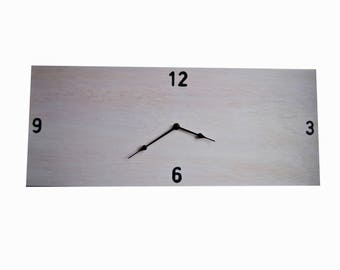 Rectangular wall Clock large format./large rectangular format wall clock.
