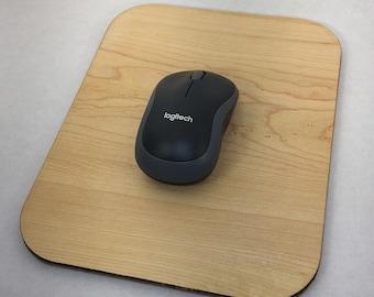 Real Maple Hardwood Mousepad