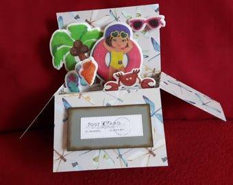 Pop up card holiday