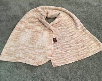 Lightweight, Versatile, Handmade Button Shawl