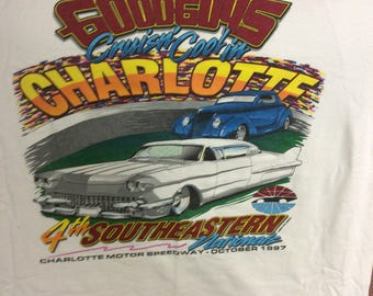 Vintage Goodguys Rod Custom East Coast Nationals Car - Good guys car show t shirts