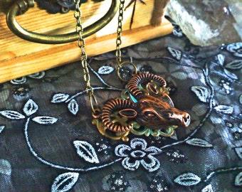 Horned Amulet
