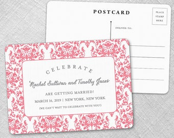 Laughter - Postcard - Save-the-Date