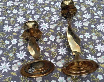 Set of Two Candlestick Holders