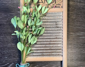 Antique Washboard Spring Wall Hanging