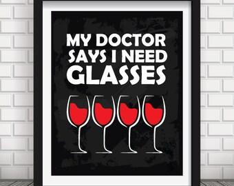 Wine quote decor, black red white wine quote print, wine quote print, wine print, wine poster, wine kitchen wall art, wine kitchen print