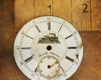 14. Vintage Railroad Specially Adjusted Watch Face