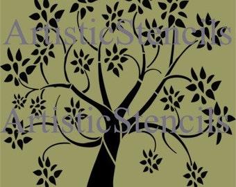 Tree Stencil 10 Inch