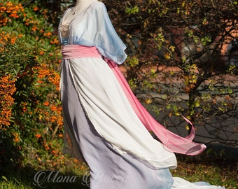 Rose DeWitt Bukater Swim Dress from Titanic movie also known as Titanic Sinking dress reproduction in the UK by Mona Bocca