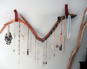 Rustic Chic Necklace Rack