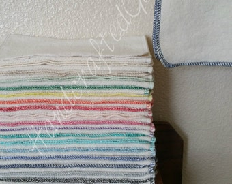 Organic Hemp Cotton Small Face Hand Towel Super Soft & Gentle *Flat Shipping Rate*