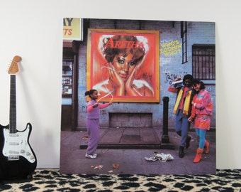 Aretha Franklin - Who's Zoomin' Who?, vintage LP