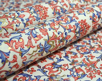 Rossi Traditional Florentine Paper - Lilies