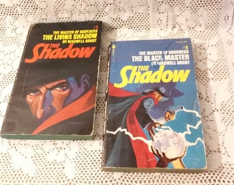 Vintage Book Set The Shadow by Maxwell Grant