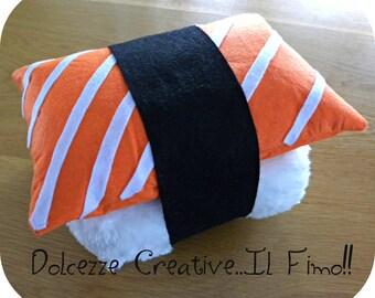 cushion Sushi Nigiri sushi lover kawaii rice salmon sashimi pillow