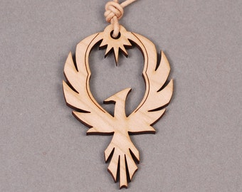 Phoenix pendant phoenix necklace phoenix jewelry wood phoenix pendant phoenix necklace firebird necklace firebird pendant bird pendant bird mozeypictures Image collections