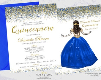 Quince invitations Etsy
