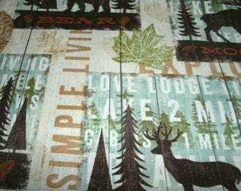 Free Shipping! on 2 Decorative, Nature Scene, Lake, Lodge Sofa Pillow Covers, Accent Pillows, Home Decor, Seasonal Pillow Covers, Fall Decor