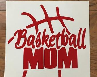 Basketball Mom Vinyl Decal