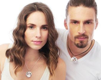 Maori Double Koru necklace